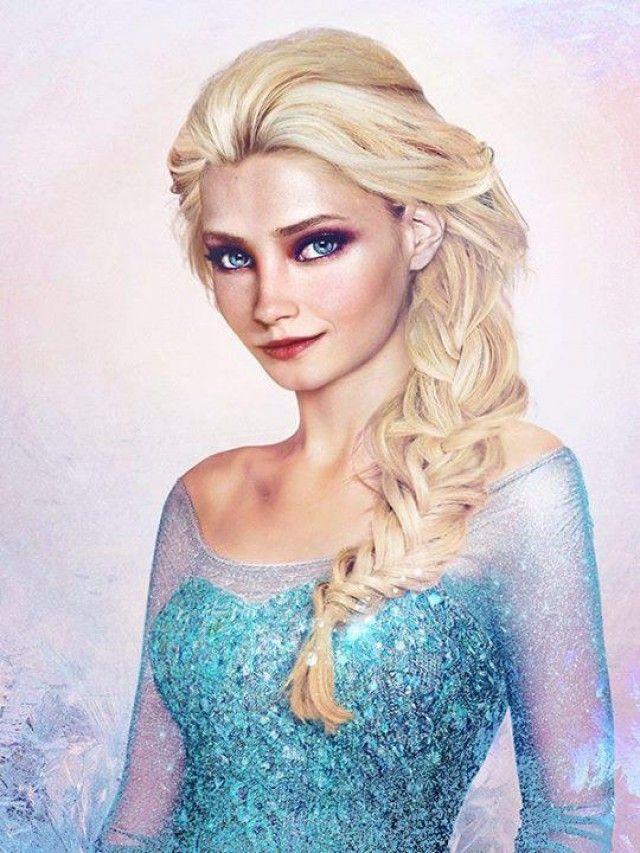 La Reine Des Neiges Photos Realistes D Elsa Et Anna