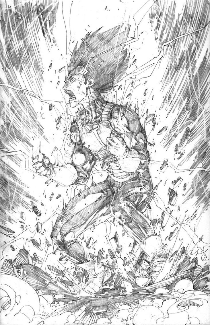 Dessin dragon ball super styl par brett booth - Dessin de dragon ball super ...