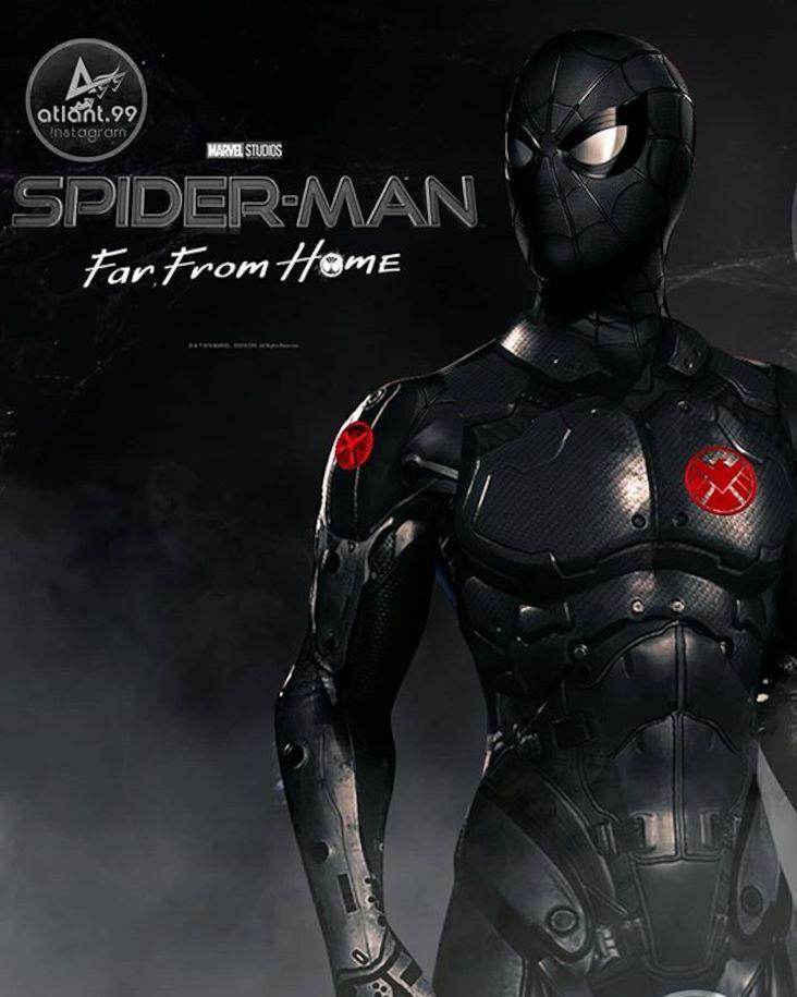 Spider Man Far From Home Dessins Des Nouveaux Costumes Par Atlant