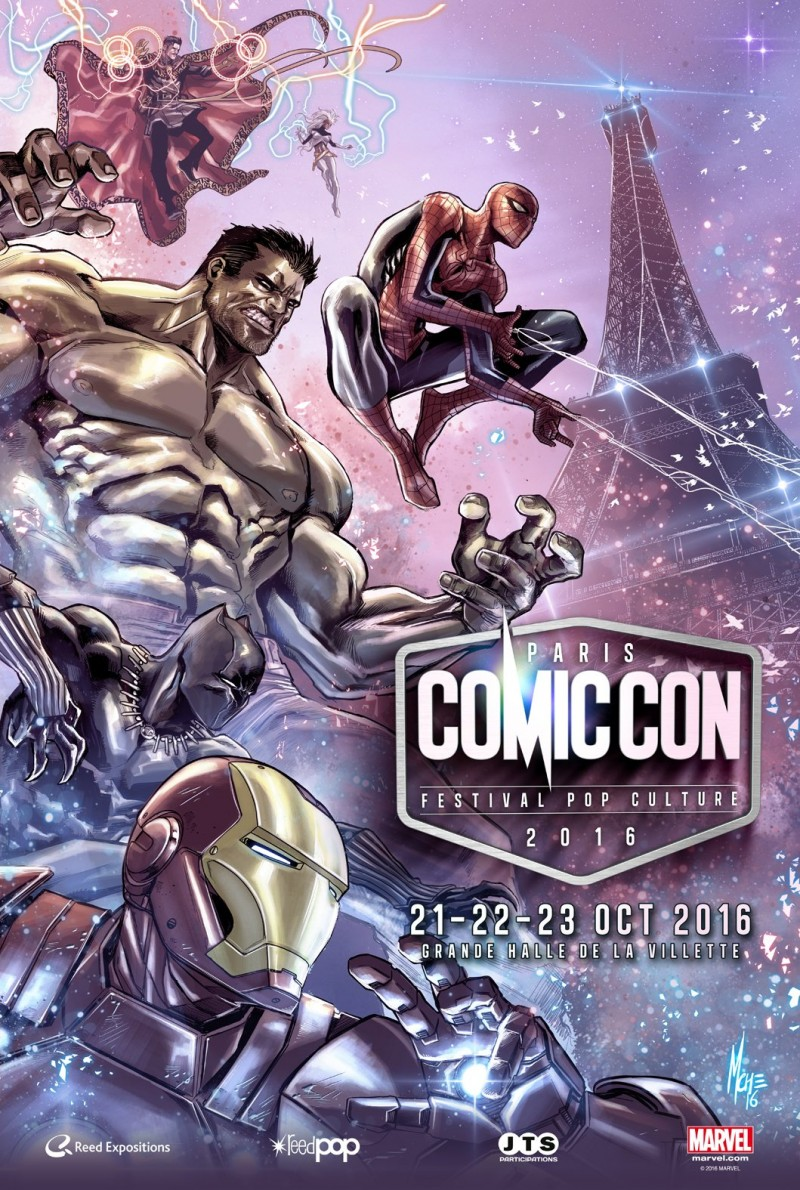 Comic Con Paris 2016 #ComicConParis