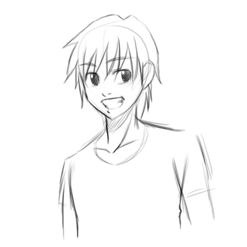 Comment dessiner un garcon manga - Dessiner un manga facilement ...
