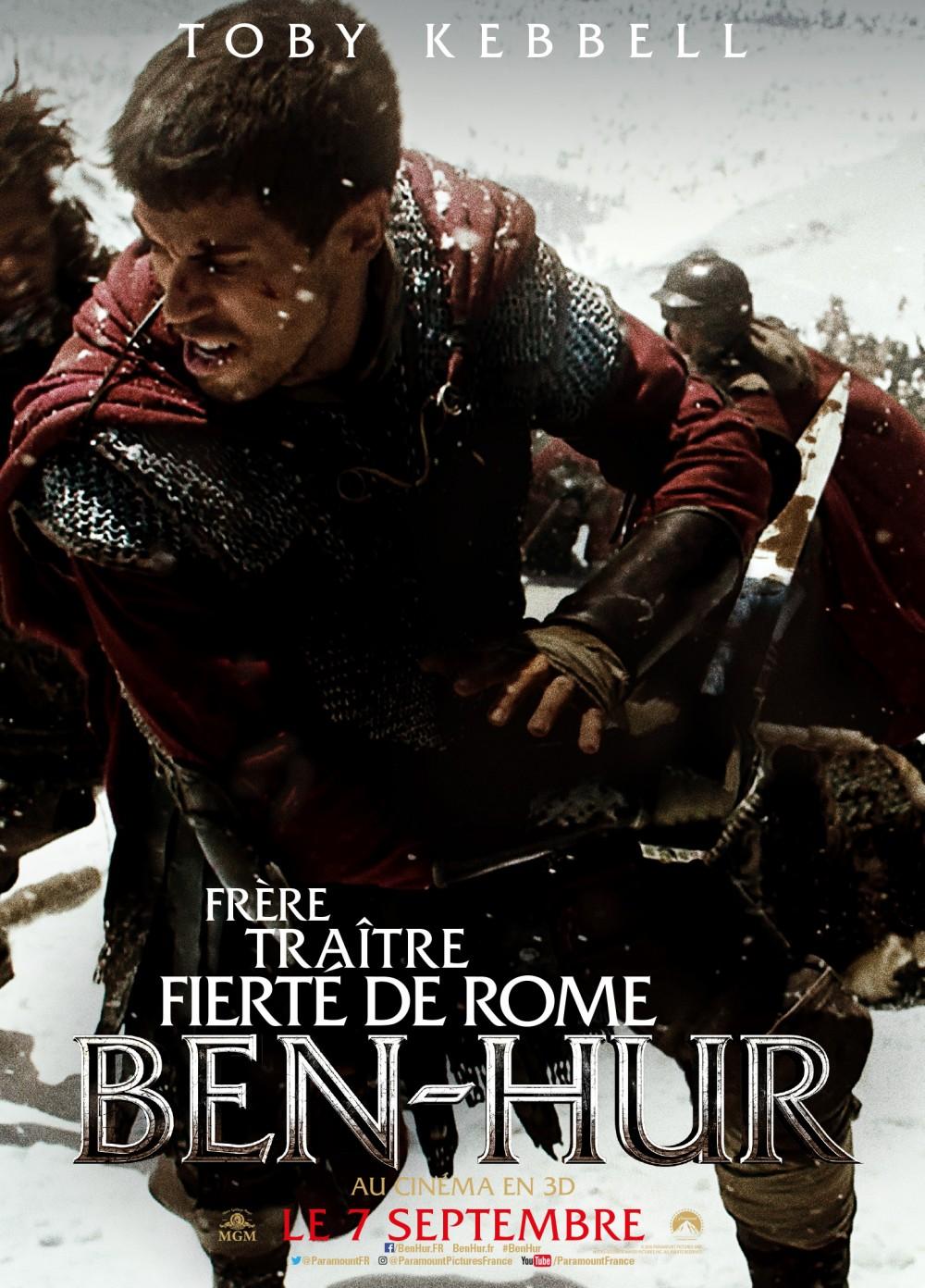 BEN HUR 2016 Le Remake Du Pplum Saffiche