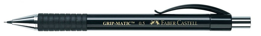 Porte-Mine GRIPMATIC Faber-Castell 0.5 mm Noir
