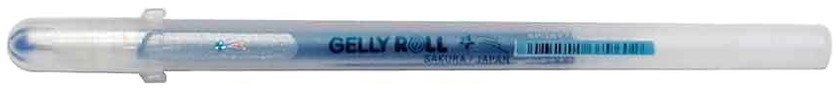 GELLY ROLL Bleu Pailleté
