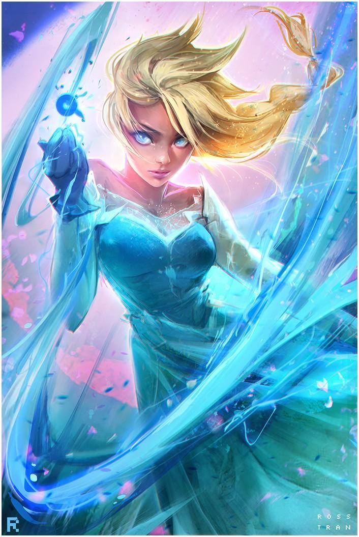 Elsa la reine des neiges dessin e par rossdraws - Elsa la reine ...