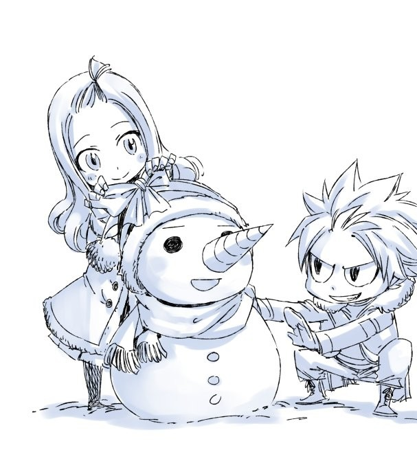 Dessins no l de hiro mashima le mangaka de fairy tail - Dessin anime de fairy tail ...