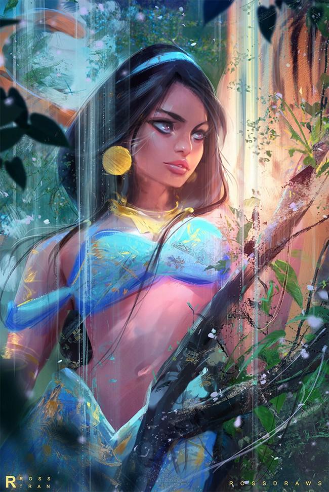 Modern Disney Princess Belle