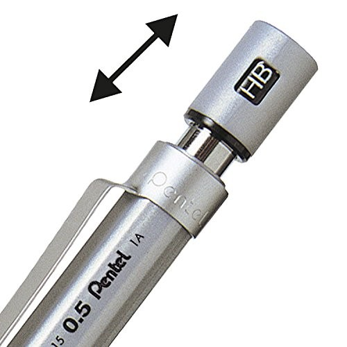 Porte mine graphgear 500 pentel 0 3 mm fiche produit sur for Porte mine 0 3 mm