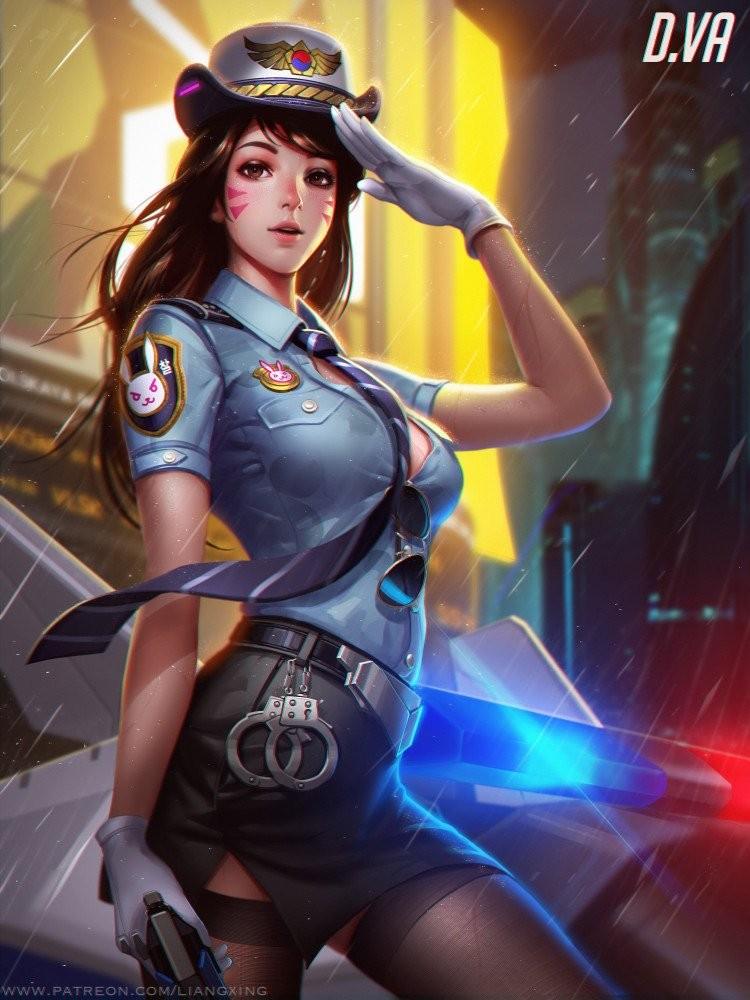 Dessins fanart Overwatch de Liangxing