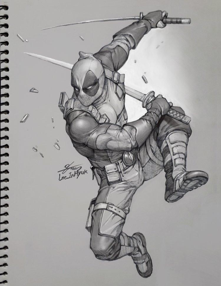 Dessiner les comics deadpool wolverine venom et - Wolverine dessin ...