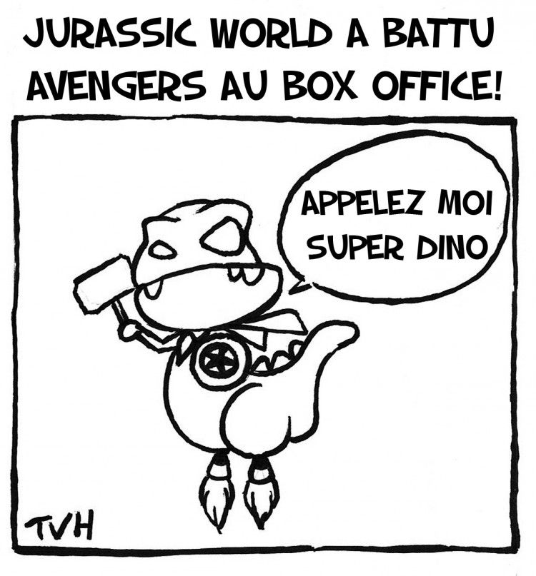 Jurassic World a battu Avengers au box office