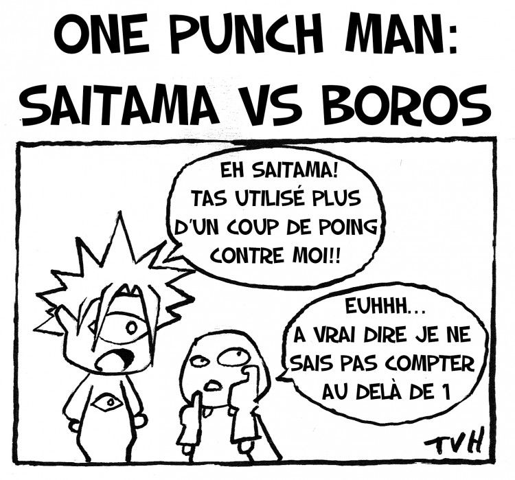 One Punch Man: Saitama vs Boros