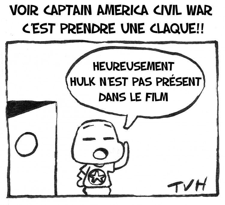 Voir Captain America Civil war  c'est prendre une claque!!