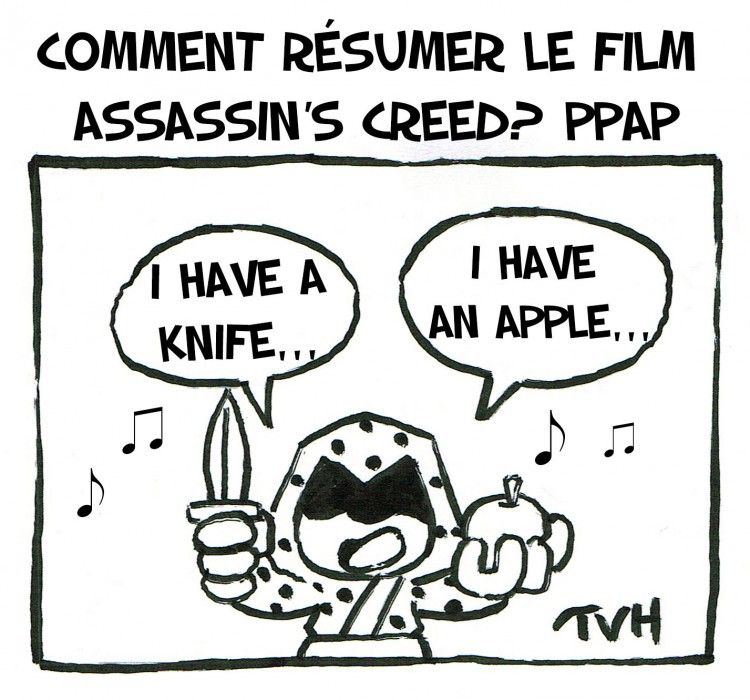 Comment résumer Le film Assassin's Creed? PPAP
