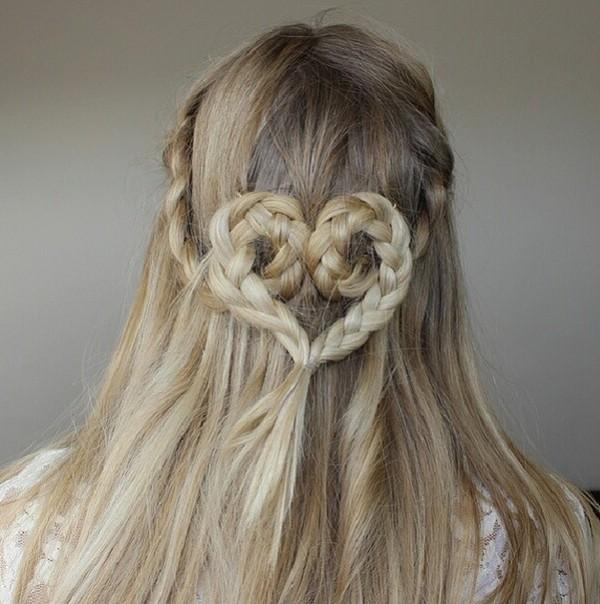Coiffure saint valentin coiffures cheveux longs - Coiffure soiree decouvrez nos idees pour la saint valentin ...