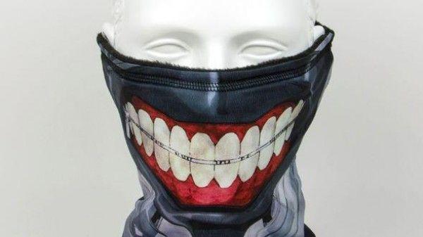 Tvhland masque tokyo ghoul pour faire peur lors d 39 halloween - Masque halloween qui fait peur ...