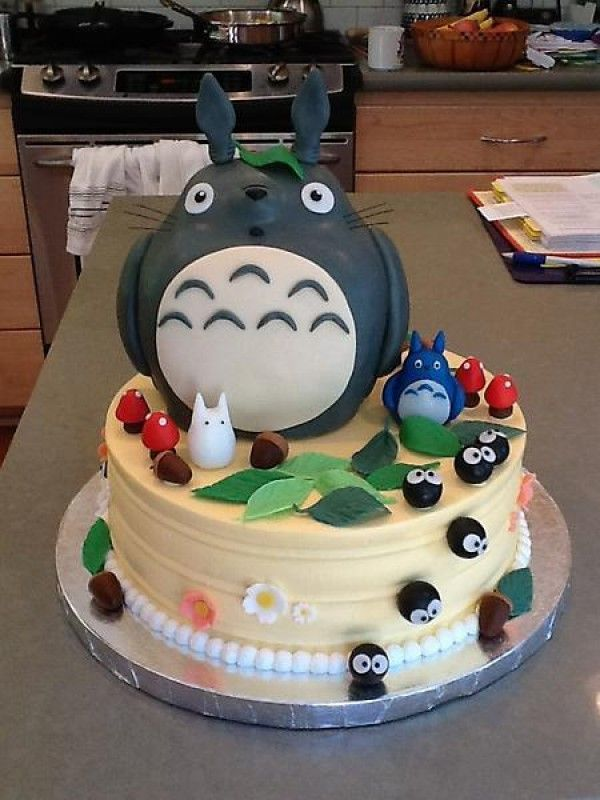 Favori Gâteau anniversaire Totoro PV97