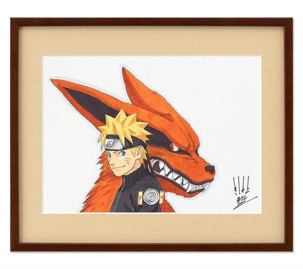 Dessin ninja naruto et kyubi renard neuf queues - Naruto renard ...