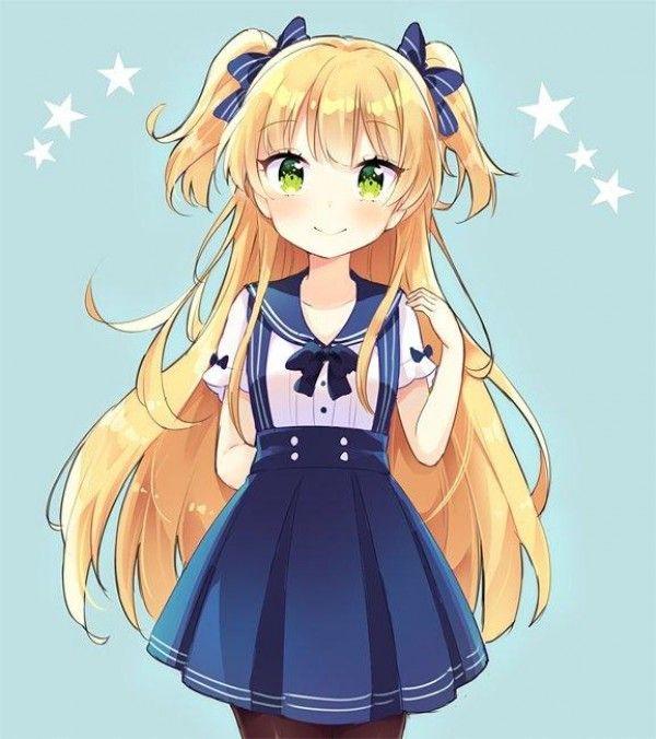 Dessin fille kawaii par oke yzw - Fille manga a dessiner ...