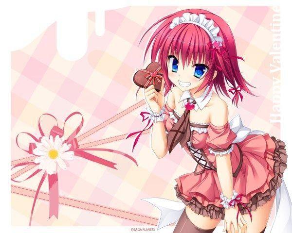 dessin manga saint valentin