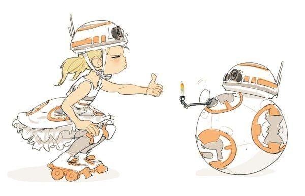 Star Wars Bb8 Dessin