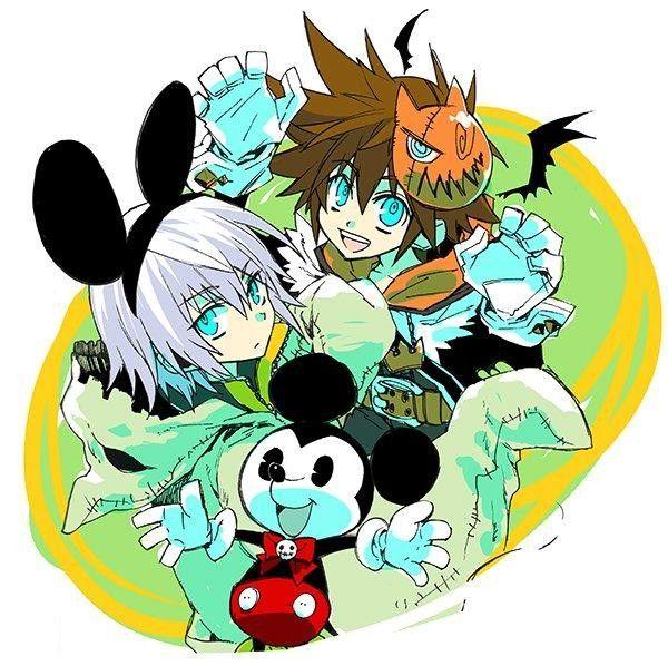 Halloween kingdom heart mickey mouse dessin yukot - Comment dessiner mickey ...