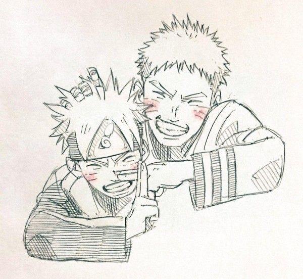 Naruto et boruto dessin - Dessin de naruto akkipuden ...
