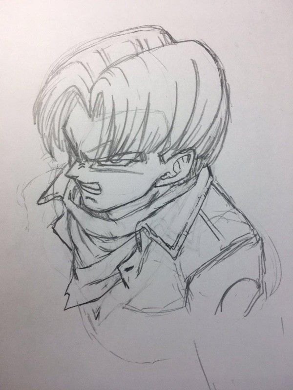 Tvhland dragonballsuper trunks dessin toyotaro mangaka - Dessin de dragon ball super ...