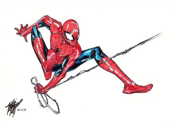 - Dessiner spiderman ...