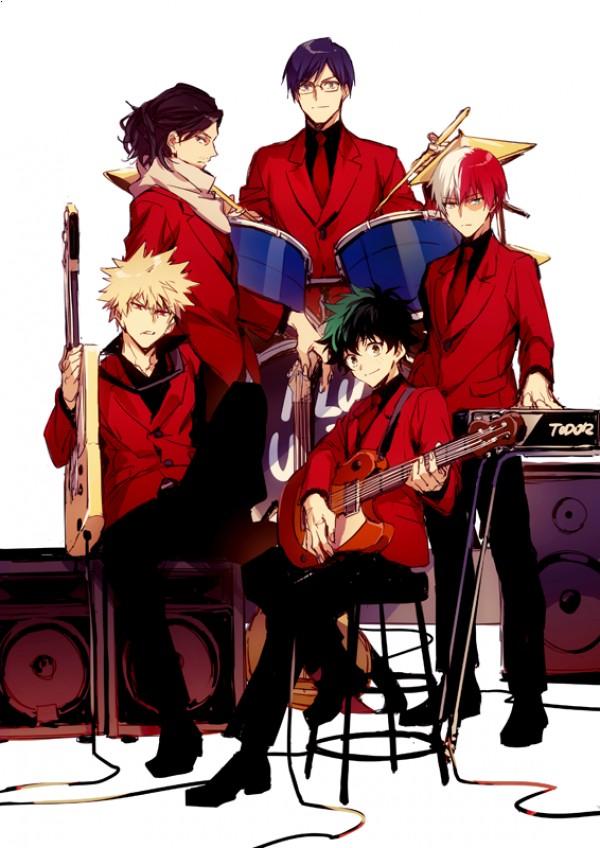 楽器×ヒロアカ