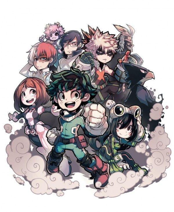 dessin manga my hero academia
