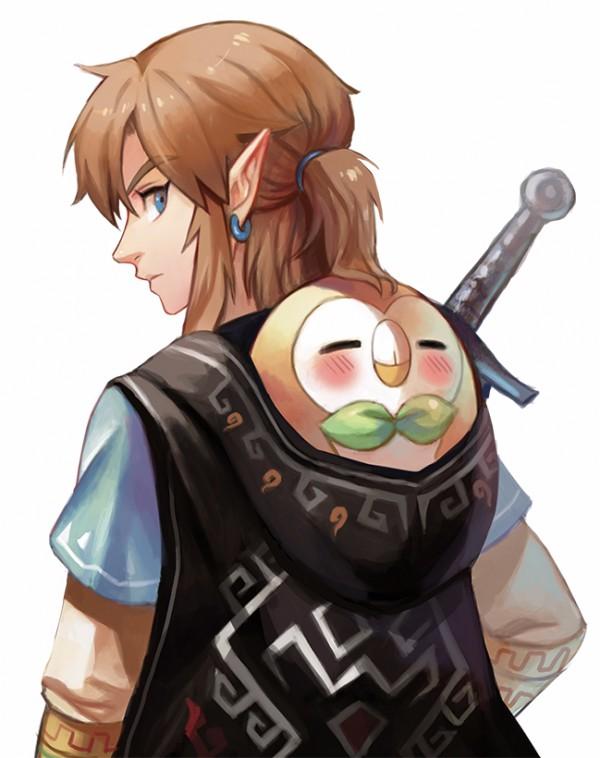 Comment Dessiner Link De La Legende De Zelda Dessin Sur Papier Kraft