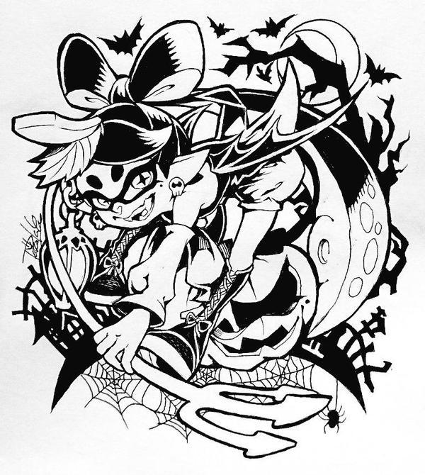 Tvhland Halloween Splatoon Dessin Zeicomi100yen Manga