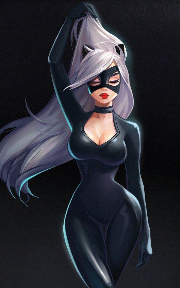catwoman dessin julia kovalyova