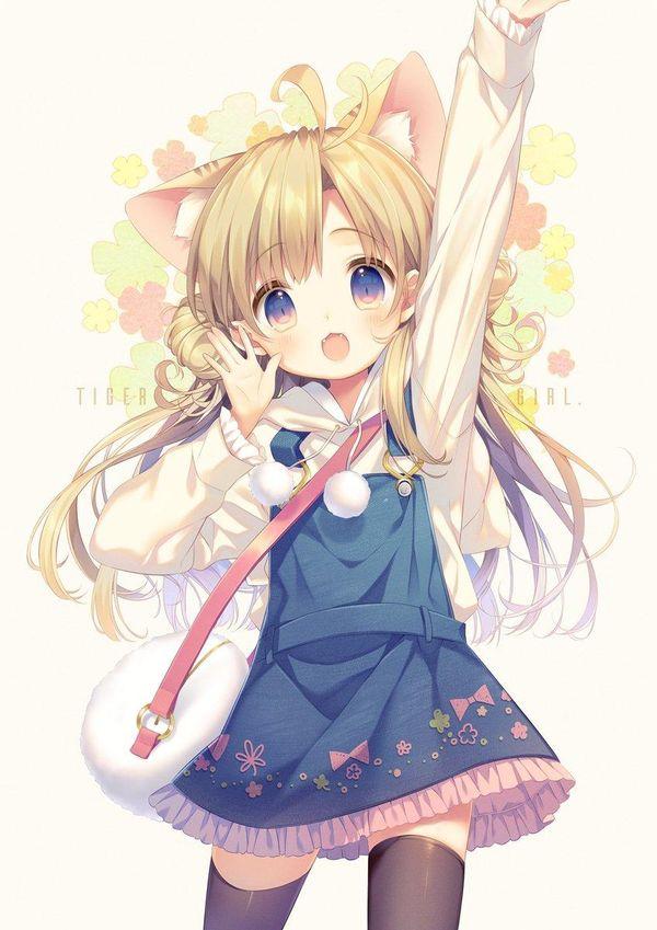 Fille kawaii dessin kuro kumagaya - Image de manga fille ...