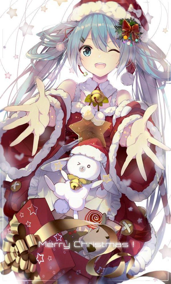 Hatsune miku no l dessin lf - Image manga noel ...