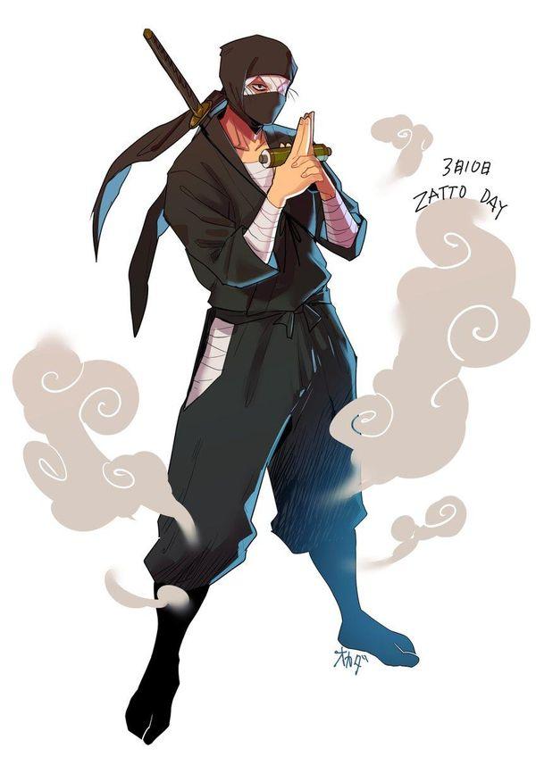 Ninja dessin okada - Dessin anime ninja ...