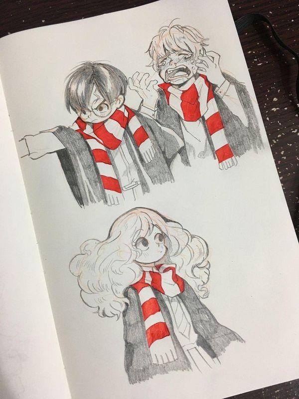 Harry Potter Dessin Fanart Tookunami