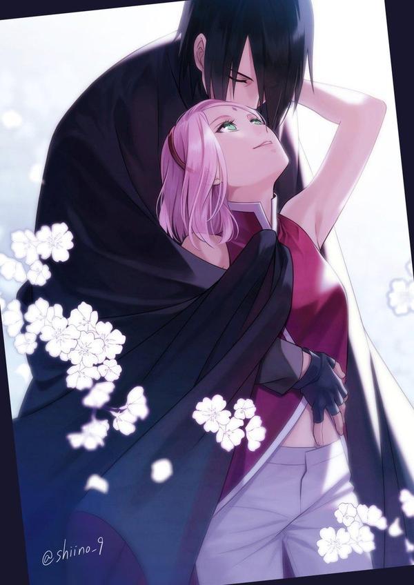 Naruto Sakura et Sasuke dessin shiino_9... | 600 x 848 jpeg 54kB