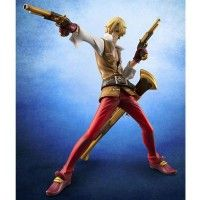 Super la pose de la figurine de Sanji (One Piece)