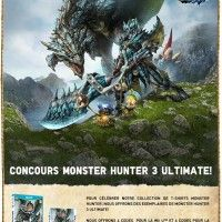 Concours Monster Hunter 3 Ultimate chez UNIQLO_France http://www.uniqlo.com/uk/monsterhunterfr/
