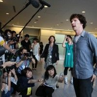 Benedict Cumberbatch est à Tokyo pour la promotion du Film Star Trek Into the Darkness où il incarne le méchant!