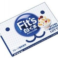 Chewing gum Fit's shiro kuma