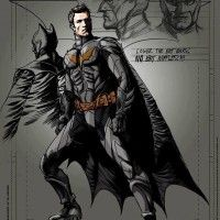 Concept art de Batman pour Man of Steel 2. Par contre, on ne sait pas si c'est le design qui sera retenu.