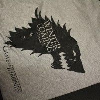 T-shirt Game of Thrones. Etes-vous fan de cette série?