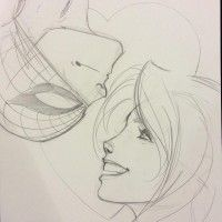 Spiderman et MJ par J. Scott Campbell