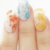 Nail art Dangaronpa