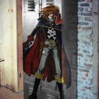 Casier #Albator par Factory Graff #harlock