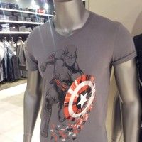 Sublime T-shirt de Captain America. Vivement les soldes :)