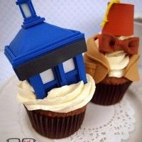 Cupcakes Docteur Who